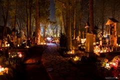 Cmentarz Zasłużonych na Pęksowym Brzyzku 01-11-2019
