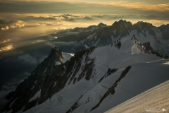 Mont Blanc 4810 m n.p.m. 10-07-2018