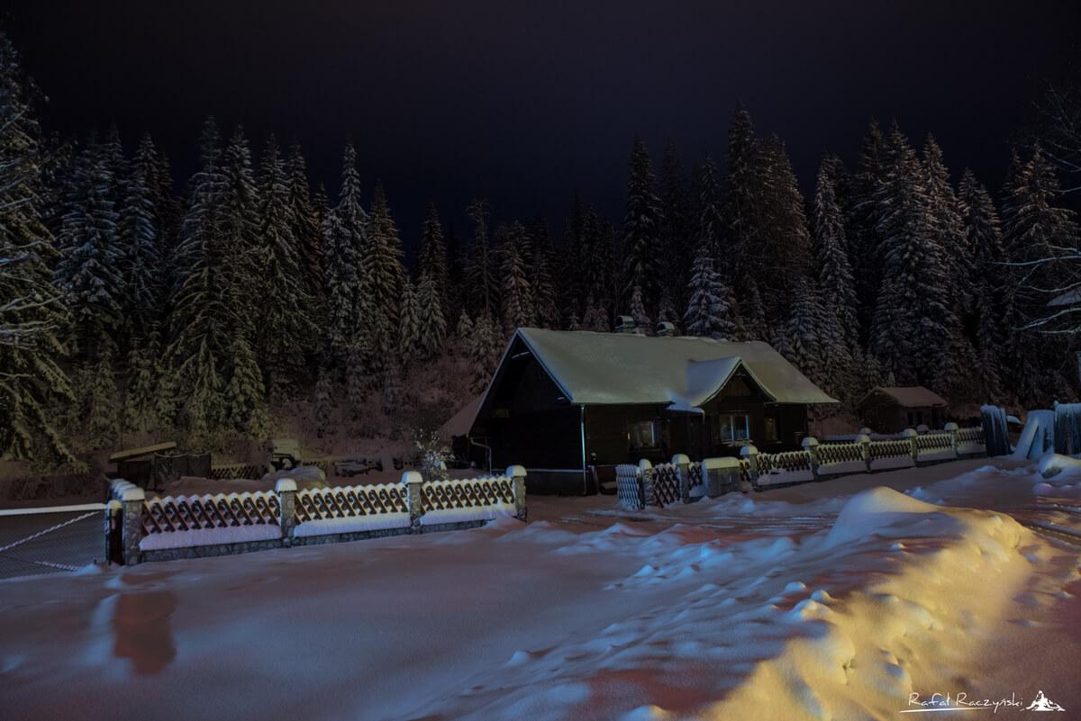 Zima, Łysa Polana