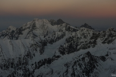 Panorama na wschód od Rysów